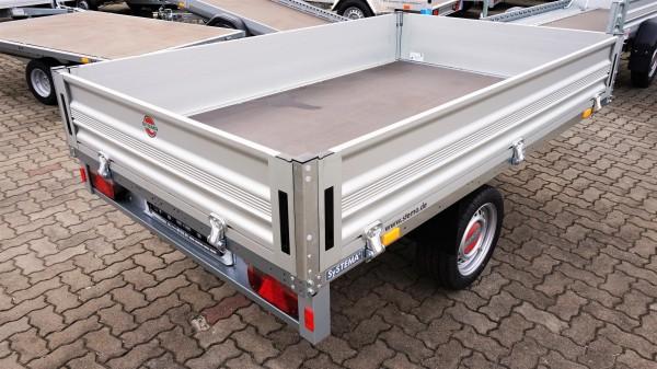 Stema Systema Hochlader Stahlblech 3010 x 1530 mm gebremst 1000 kg