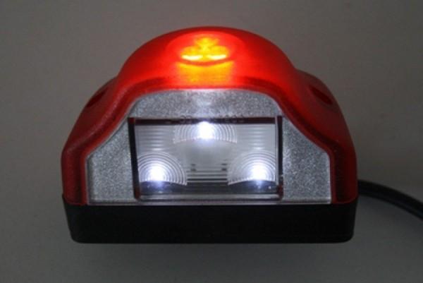 Kennzeichenleuchte, LED, rot