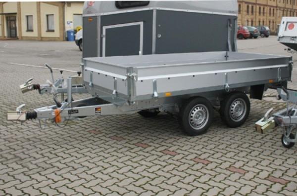 Stema Tandem Hochlader Stahl 3010 x 1530 x 350 mm gebremst 2000 kg