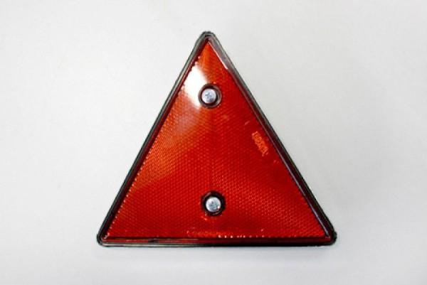 Dreieckrückstrahler mit Metallfassung
