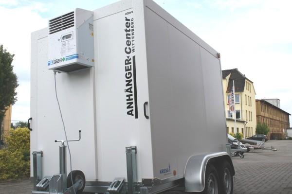 Profi Kühlanhänger mieten Kastenmaß 2790x1725mm