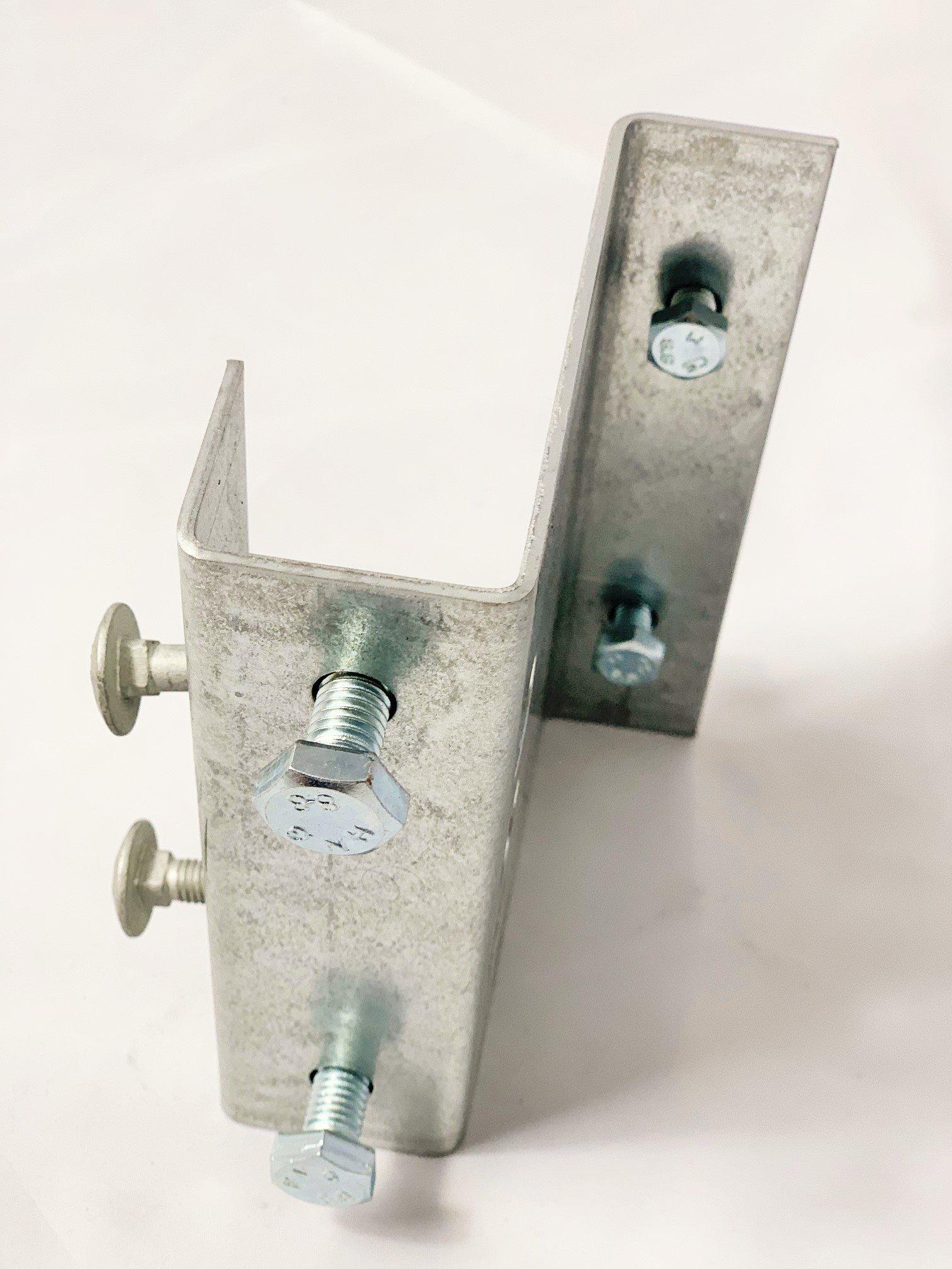 Abstellstütze mit Halterung  700 mm