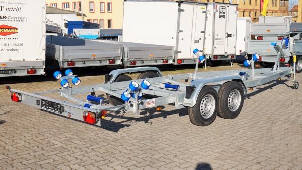 BA 2700-R Bootsanhänger 2700 kg mit Rollenauflage inkl. 100 km/h