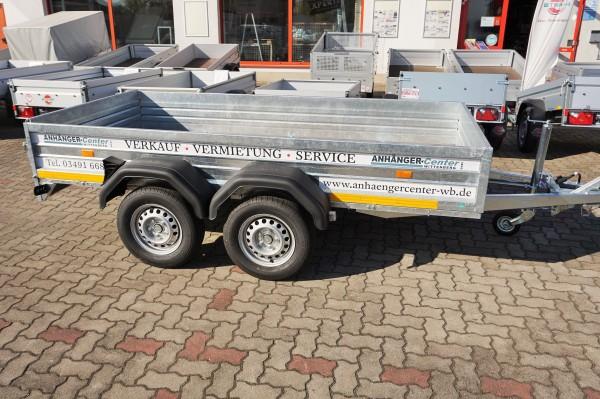 Mietanhänger 2000kg Kastenmaß 3000 x1500mm 100km/h