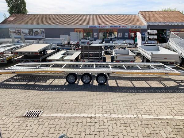 "Autotransporter XXL "" DUO"" mieten 3500kg"