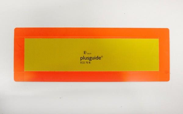 Warntafel für Anhänger oder LKW-Sattelauflieger ECE 70