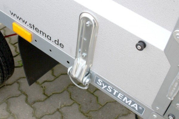 Bordwandscharnierblatt 270 mm 16 mm Bolzen-Ø