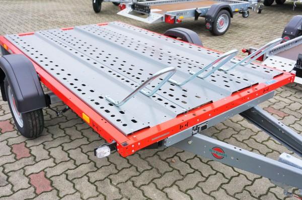Stema STM 02 10-25-15.1 rot Motorradanhänger