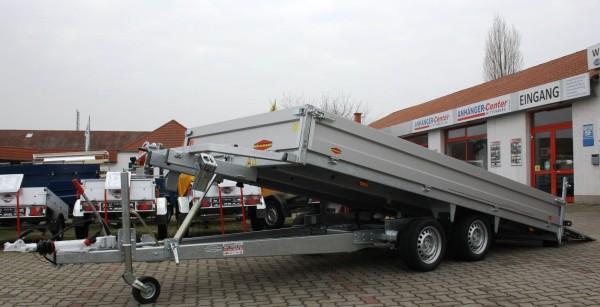 Böckmann MH-AL 4320/30 mit hohen Bordwänden und Seilwinde