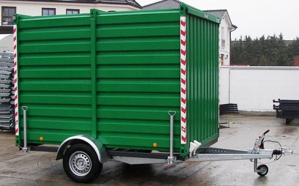 Fahrbarer Materialcontainer MBS 1500