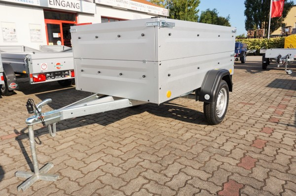 TPV Kastenanhänger TL-EU2 750kg mit Bordwandaufsatz