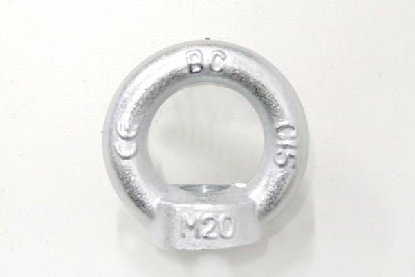 Ringmutter M20 bis 1200 kg