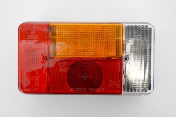 R/ückleuchte Radex 5001 Rechts mit R/ückfahrleuchte Kabelh/ülse anschluss