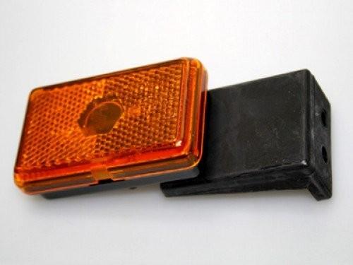 Seitenmarkierungsleuchte mit Halter orange