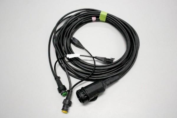 Kabelsatz 13-polig mit Abgang Steckanschluss 6 m