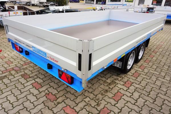 Barthau Anhänger SP 2702 4.120x2.120x400 mm mit 100 km/h Zulassung