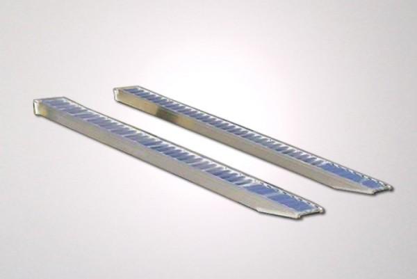 Auffahrrampen, 2340 x 325 mm, 1660 kg, Aluminium mit Rand
