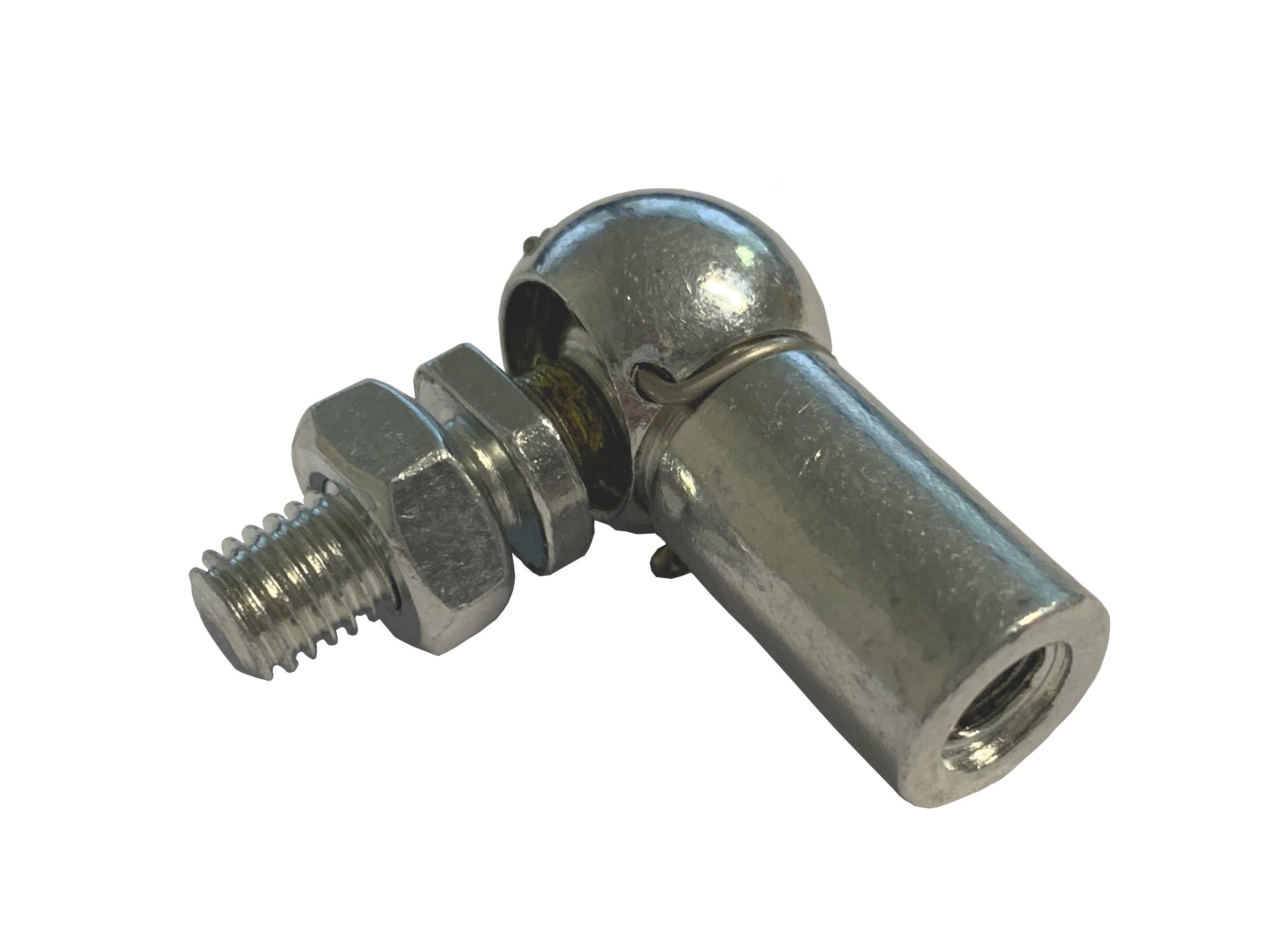 Gasdruckfedern//Gasdruckd/ämpfer ausgeschobene L/änge 460mm 650 N Ausschubkraft