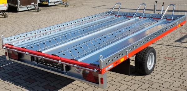 Stema SHM 02 15-25-18.1 rot Motorradanhänger 1500 kg