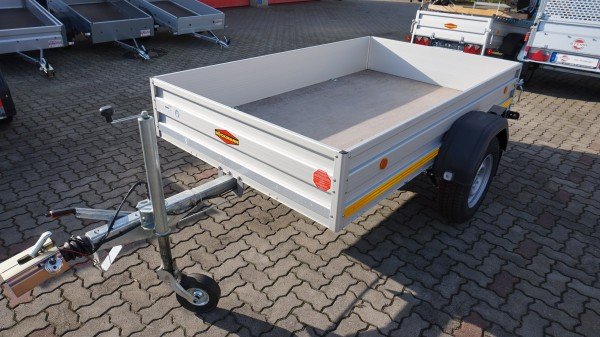 Mietanhänger 1500kg Kastenmaß 2500x1500mm