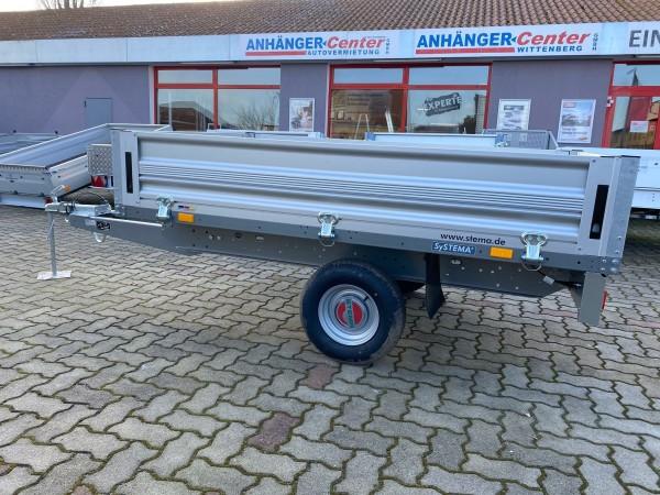 SH O1 7.5-21-13.1 Alu STEMA Hochlader 750 kg 210 x 128 cm