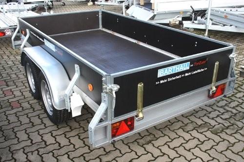 Mietanhänger 2000kg mieten Kastenmaß 3000x1500mm