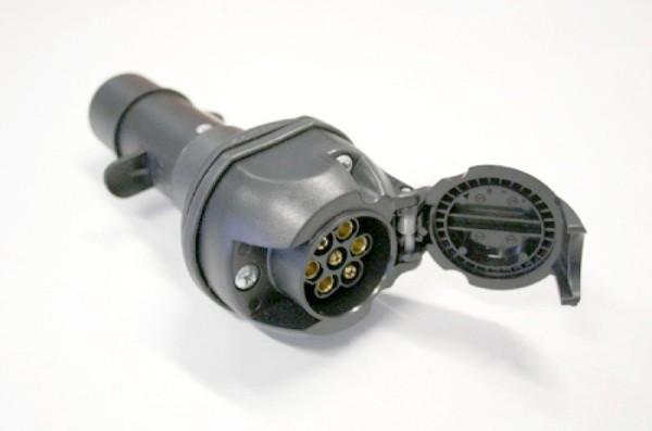 Spannungsreduziergerät, 7 polig Typ N LKW - 7 polig PKW