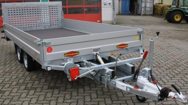 Böckmann MH-AL 4320 / 35 mit hohen Bordwänden und Seilwinde