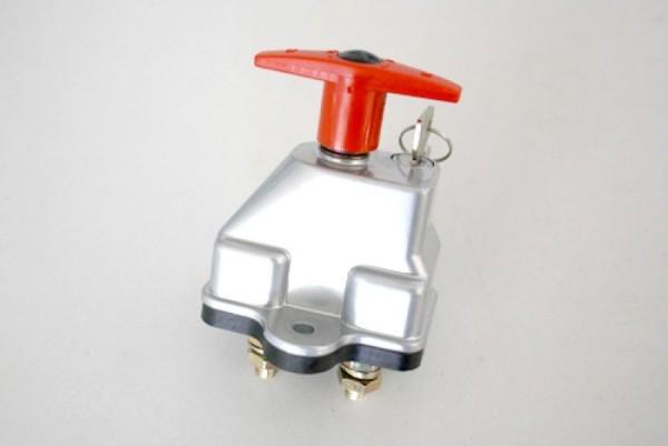 Batterietrennschalter mit Schlüssel, 12V/24V