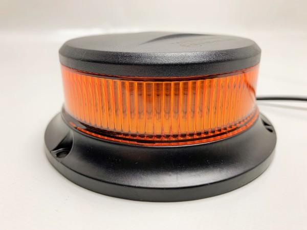 LED Rundumkennleuchte gelb mit Magnetfuß extrem hell