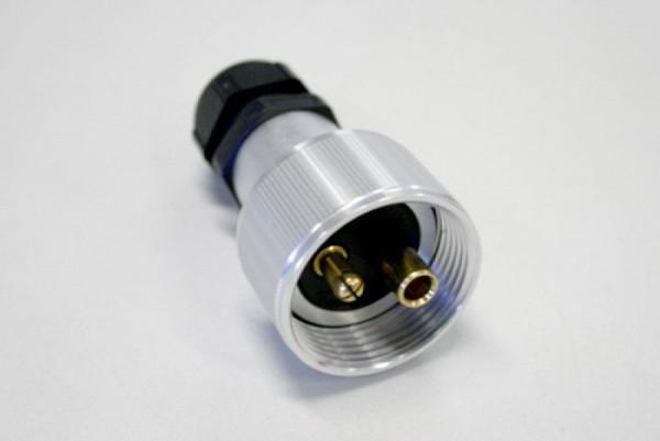 Stecker 2-polig, DIN 14690